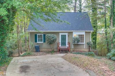 Norcross Single Family Home Under Contract: 5324 Coventry Ct