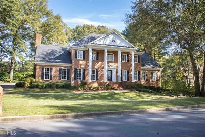 Johns Creek Single Family Home Back On Market: 8855 River Trace Dr