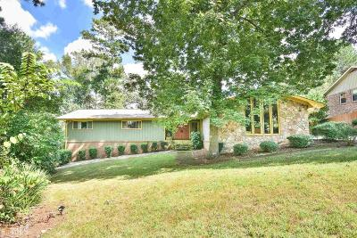 Conyers Single Family Home Under Contract: 3780 SE Clubhouse Ln