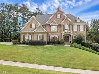 Acworth Single Family Home Contingent With Kickout: 107 Fairway Overlook Dr