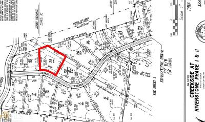 Social Circle Residential Lots & Land For Sale: 1008 Riverstone Ct