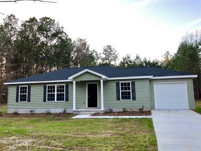 Statesboro Single Family Home For Sale: 805 Bay Tree Ln #Lot 78