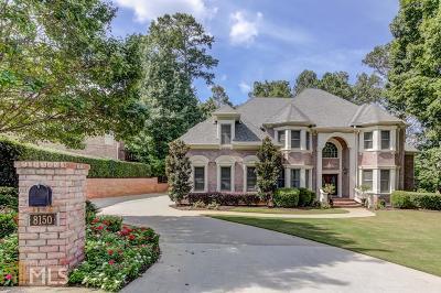 Roswell, Sandy Springs Single Family Home For Sale: 8150 Nesbit Ferry Rd