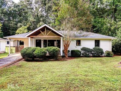 Smyrna Single Family Home New: 3086 Wills St