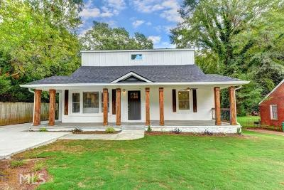 Decatur Single Family Home New: 2038 Castlegate Ter