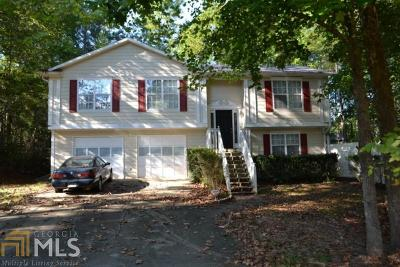Douglasville Single Family Home Under Contract: 7200 Woodcreek Way