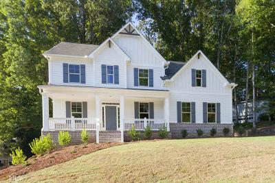 Marietta Single Family Home New: 3222 Wicks Lake Dr