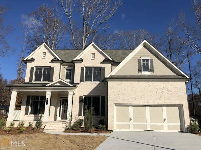 Sugar Hill Single Family Home Under Contract: 895 Grove Glen Ct