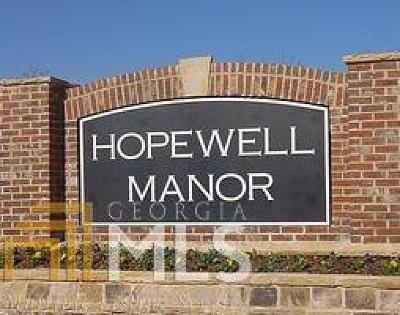 Cumming Single Family Home For Sale: 4405 Hopewell Manor Dr