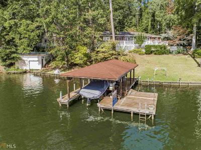 Haddock, Milledgeville, Sparta Single Family Home For Sale: 291 Sinclair Marina Rd
