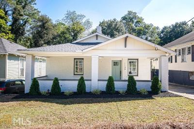 Atlanta Single Family Home For Sale: 1148 Oakland Dr