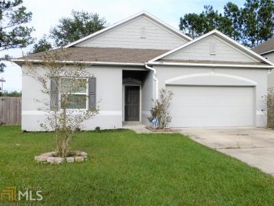 Kingsland GA Single Family Home For Sale: $169,000