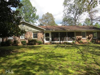 Clarkesville Single Family Home For Sale: 3187 Talmadge Dr