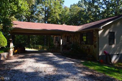 Banks County Single Family Home Under Contract: 317 Highway 98