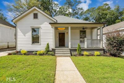Atlanta Single Family Home New: 515 Kelly St