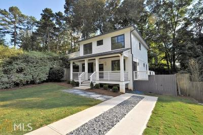 Atlanta Single Family Home New: 1199 Argonne Way