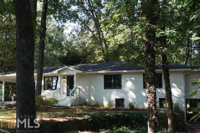 Marietta Single Family Home For Sale: 481 Villa Rica Way