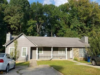 Clayton County Multi Family Home Under Contract: 5436 Glen Haven Dr #5434,543
