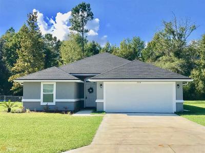 Kingsland GA Single Family Home New: $174,900