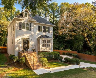 Atlanta Single Family Home New: 341 Eureka Dr