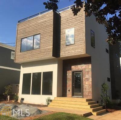Reynoldstown Single Family Home For Sale: 175 Cleveland St