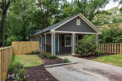 Atlanta Single Family Home New: 1317 Fairbanks St
