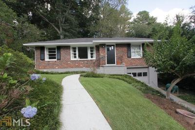 Decatur Single Family Home New: 990 N Hills Dr