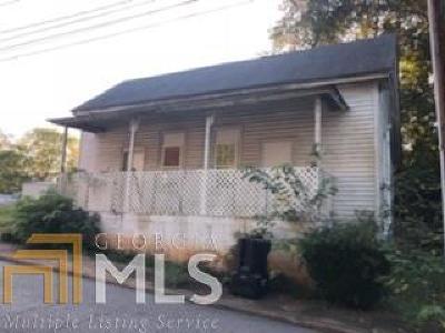 Newnan Single Family Home For Sale: 62 Murray St