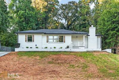 Decatur Single Family Home New: 2993 Belvedere Ln