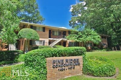 Atlanta Condo/Townhouse New: 1470 E Rock Springs
