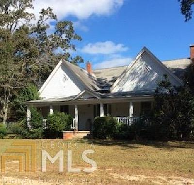 Butts County Single Family Home New: 214 Kinard Mill Rd