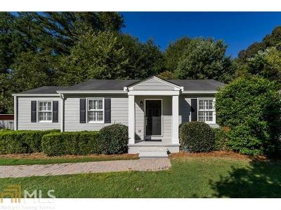 Brookhaven Single Family Home Under Contract: 2948 Surrey Ln