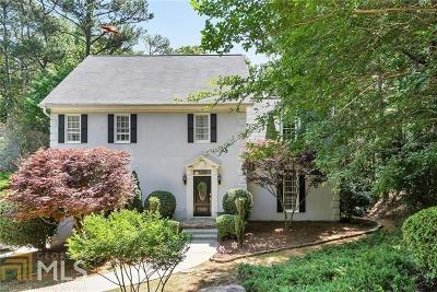 Johns Creek Single Family Home Under Contract: 625 Arboreal Ct