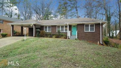 Decatur Single Family Home New: 1429 Thomas Rd