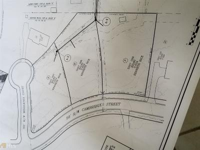 Snellville Residential Lots & Land For Sale: 2836 Cambridge St