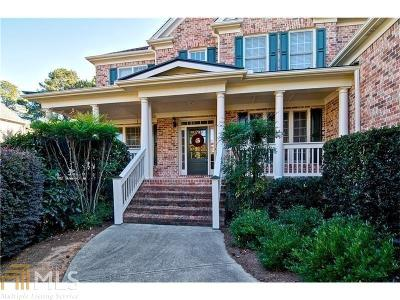 Kennesaw Single Family Home Under Contract: 807 Morningwood Ln