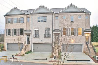 Marietta Condo/Townhouse New: 1562 Cambridge Pl