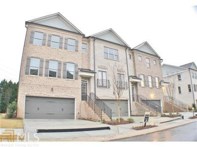 Marietta Condo/Townhouse New: 1558 Cambridge Pl