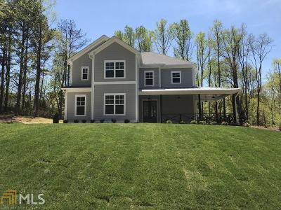 Woodstock Single Family Home New: 4690 Waters Rd