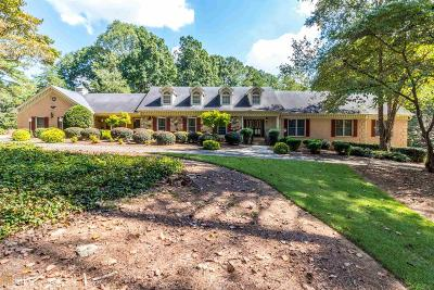 Stone Mountain Single Family Home Under Contract: 1701 Silver Hill Rd