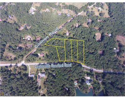 Loganville Residential Lots & Land For Sale: 2487 Centerville Rosebud Rd #Lots 2-7