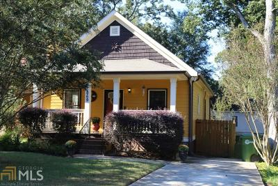 Atlanta Single Family Home New: 1669 Evans Dr