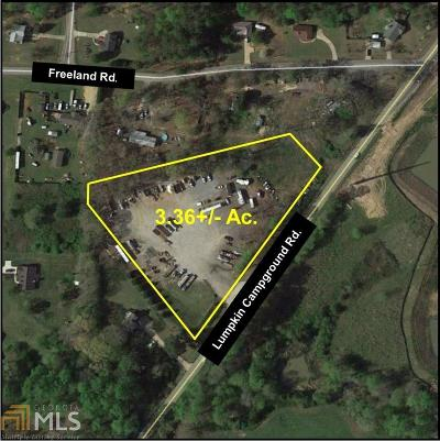 Dawsonville Commercial New: 1712 Lumpkin Campground Rd