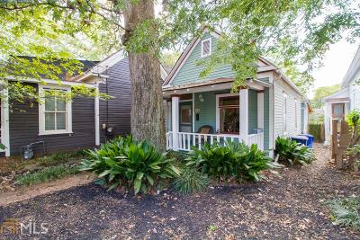Cabbagetown Single Family Home For Sale: 169 Powell St