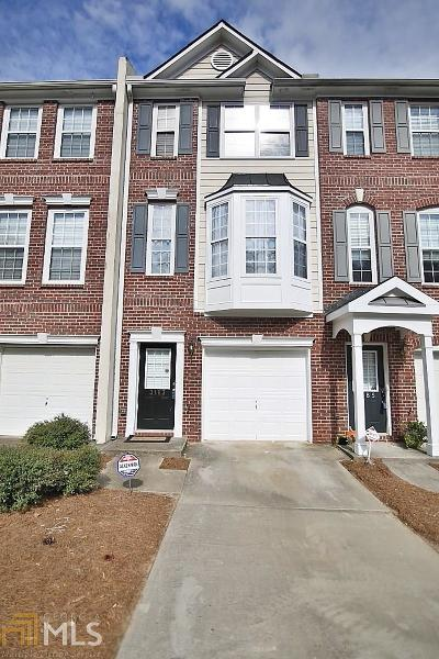 Buford Condo/Townhouse For Sale: 3183 Mill Springs Cir