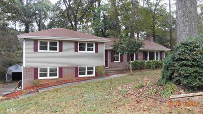 Acworth Single Family Home New: 5713 Woodland Dr