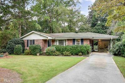 Decatur Single Family Home New: 1168 Ivy Ct