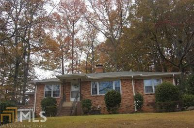 Hapeville Single Family Home Under Contract: 3359 Northside Dr