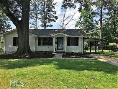 Decatur Single Family Home Under Contract: 875 Scott Cir