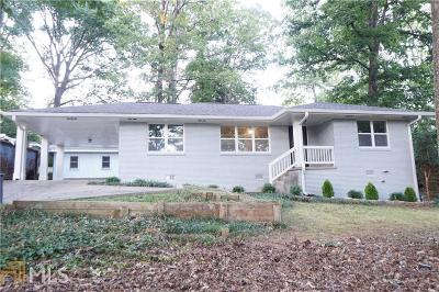 Decatur Single Family Home New: 3260 N Druid Hills